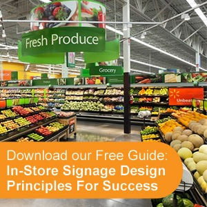In-store Signage Design Principles