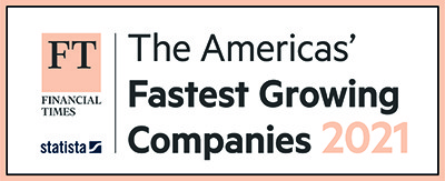 Financial Times - The Americas' Fastest Growing Companies 2021