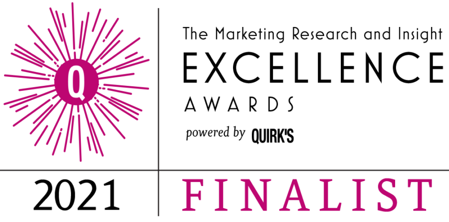 Quirk's Insights & Excellence Award Finalist